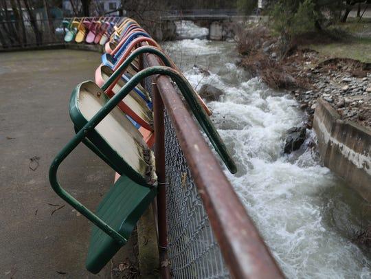 Paige Boulder Creek flows past Whiskeytown  Environmental