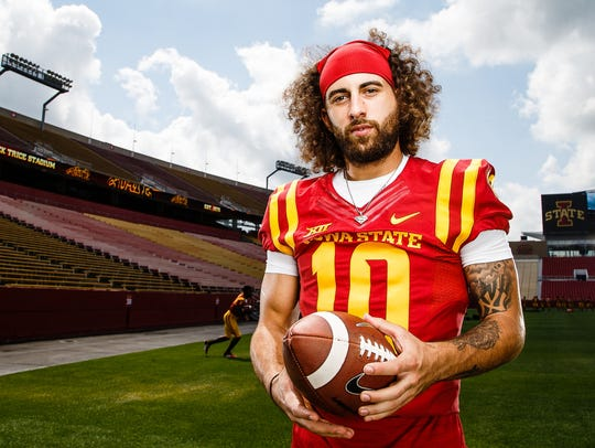 The 2017 year will be a big one for Iowa State quarterback