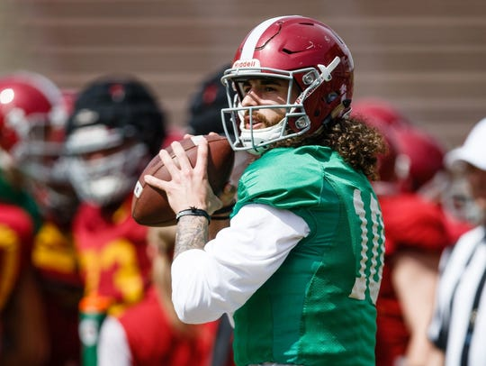 Brian Powers/The Register Iowa State?s offense averaged