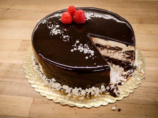Provence chocolate framboise cake