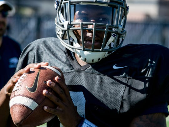 Kaymen Cureton is competing for Nevada's backup quarterback job.