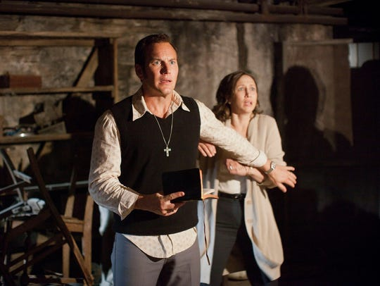 "Patrick Wilson and Vera Farmiga star in ""The Conjuring"""