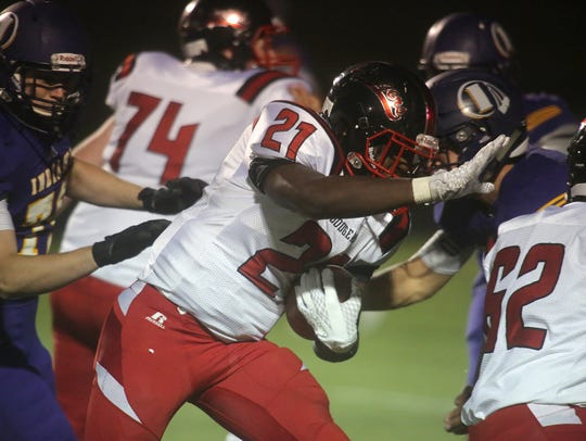 Fort Dodge running back Dayson Clayton is one of the state's top sophomores.