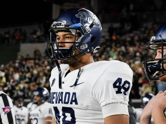 Trae Carter-Wells has been voted a team captain for Nevada's last two games.
