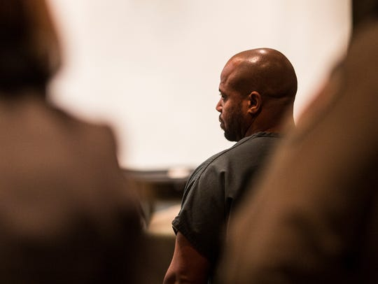 Defendant Billy Ray Turner enters Judge Lee Coffee's