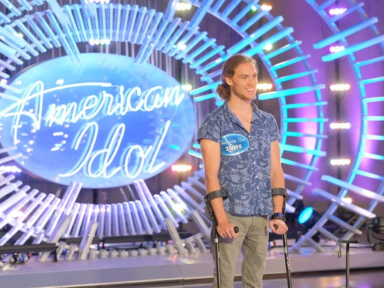 "Knoxville native David Francisco auditions for ""American Idol."""