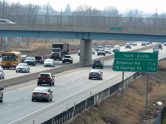 The public will soon have a chance to view plans for a projectthat will widen a 5-mile stretch of Interstate 83 from four to eight lanes from Market Street to North George St. John A. Pavoncello photo