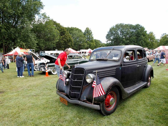 The car show returns to the Spiedie Fest & Balloon