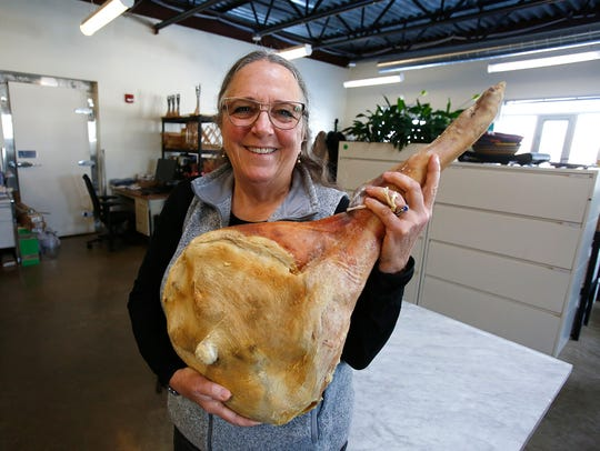 Kathy Eckhouse, co-owner of La Quercia Handcrafted