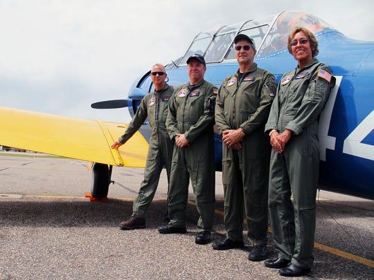 Alan Anders, Jeff Geer, Mark Kandianis and Elizabeth