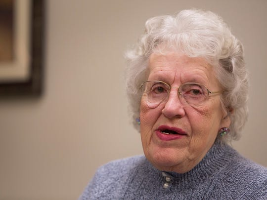Doris Haywood, 86, talks about her memories of attending the funeral for Tammy Jo Alexander at the Center for Nursing and Rehab in Mt. Morris.