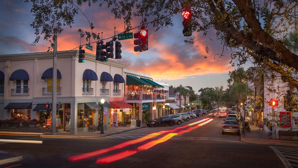 Florida: The charming town of Mount Dora, Florida is