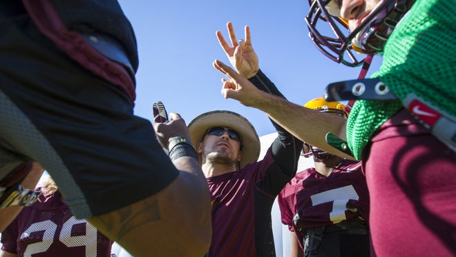 Arizona State running backs coach Bo Graham -- the son of head coach Todd Graham -- has resigned his position.