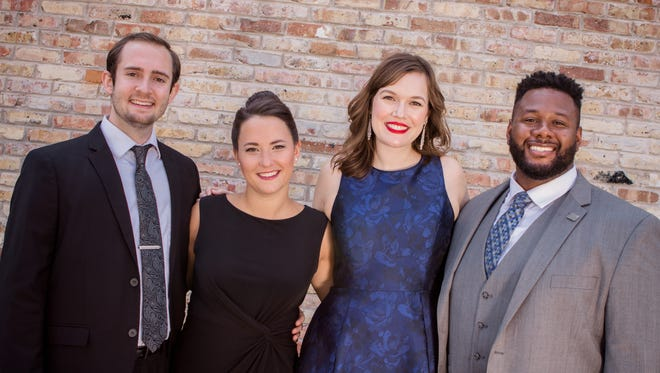 Philanthropists Donald and Donna Baumgartner have made a $1.5 million gift to support the Florentine Opera Studio Artists program. This year's Studio Artists include  Nathaniel Hill, Rachel Blaustein, Ashley Puenner and Edward Graves.
