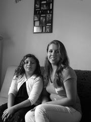 Shannon Belly and her daughter Allison Fonseca are