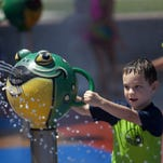 Raw video: Splash pads open today in chandler