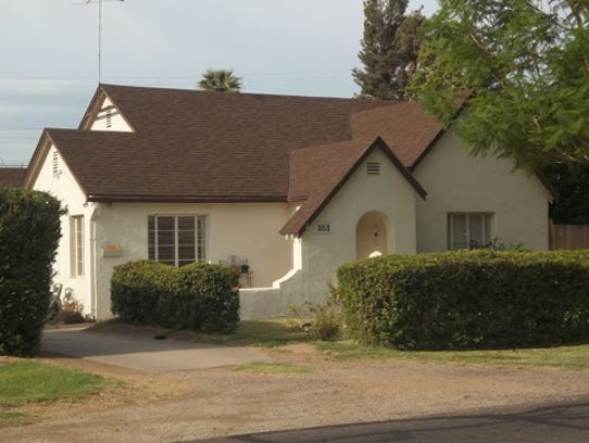 Yaple Park has a number of English Cottage-style homes,