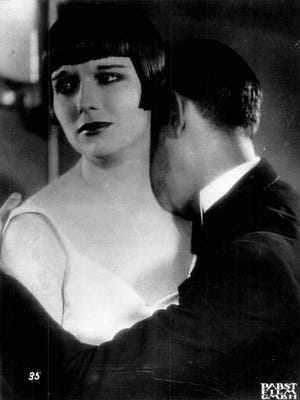 """Actress Louise Brooks in """"Diary of a Lost Girl"""", 1929 to receive the George Award from the George Eastman House.."""