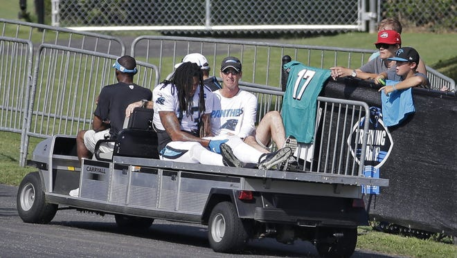 Kelvin Benjamin's injury might keep the Panthers out of the playoffs.