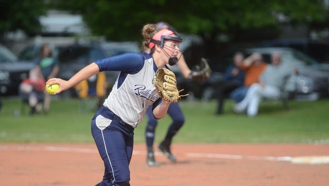 Rutherford senior pitcher Leigha Goldsack went 4-0 in the circle last week without allowing a run, while also batting .687 at the plate.