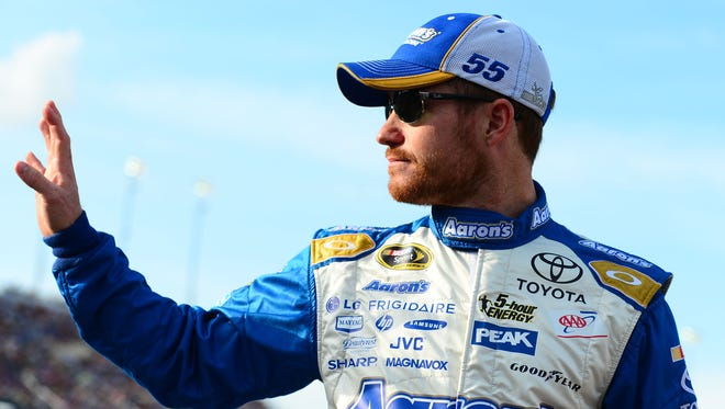 Brian Vickers will race for the first time in 2015 at Las Vegas Motor Speedway this weekend.
