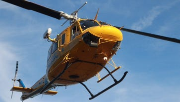 Helicopter sent to rescue juvenile at camp along Pacific Coast Highway