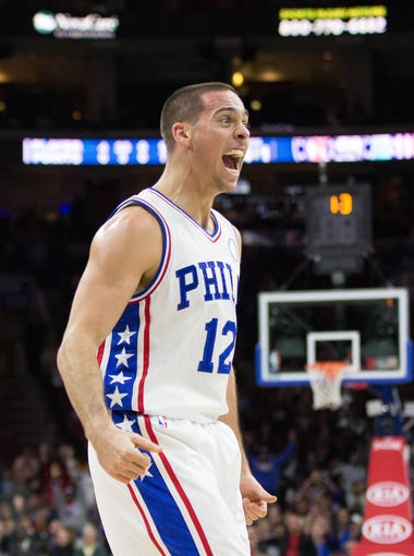 T.J. McConnell didn't get drafted but he did land a partially guaranteed free-agent contract with his home-state Philadelphia 76ers.