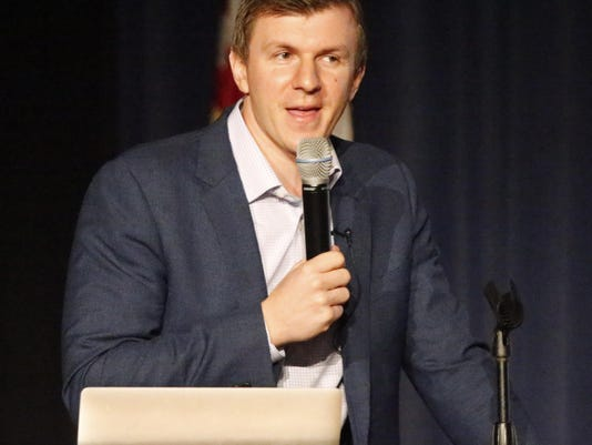 Controversial Conservative Advocate James O'Keefe Speaks On Campus Of Southern Methodist University