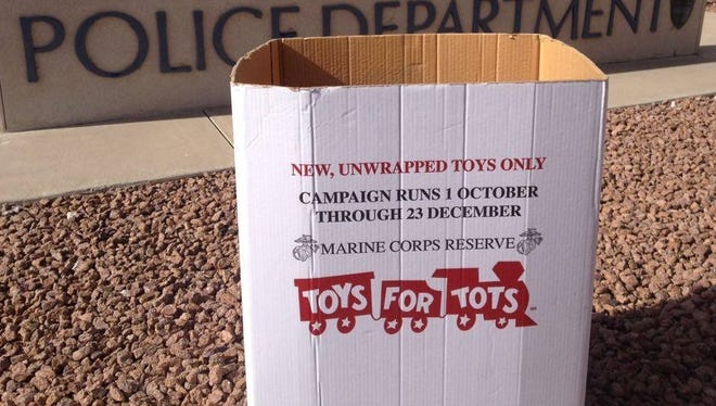 The Las Cruces Police Department is participating in two holiday campaigns – Project Linus and Toys for Tots – that benefit local children.
