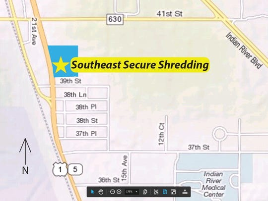 The residential paper shredding event will be held