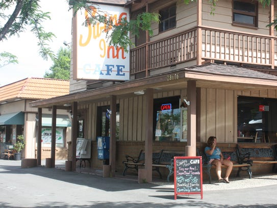 The Swing Inn Café is a popular breakfast spot in Old