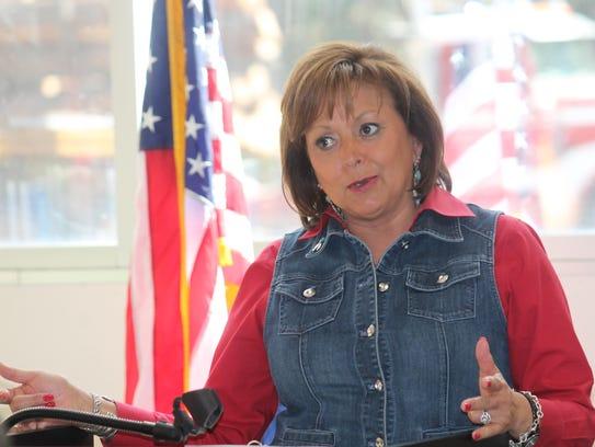 Gov. Susana Martinez announced her goal for every student