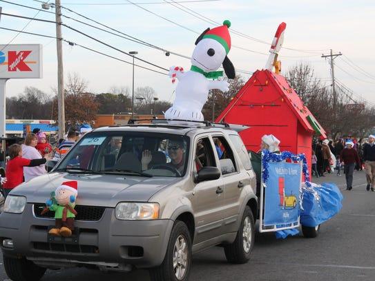 Smyrna Christmas parade is set for 2 p.m. Dec. 6.