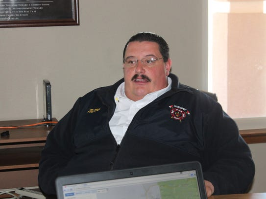 Alamogordo Fire Chief Mikel Ward discusses what he