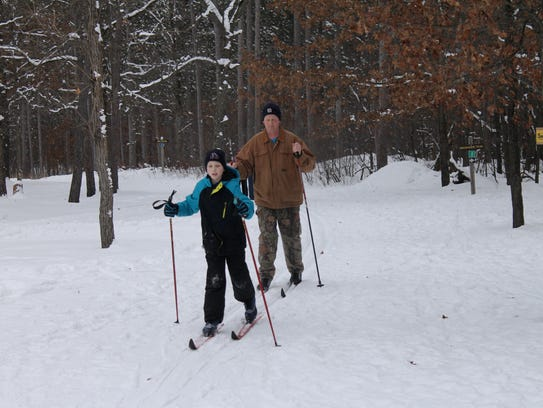 Cross-country skiing and snowshoeing were among the