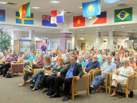 The public attended the fifth annual Miller Library