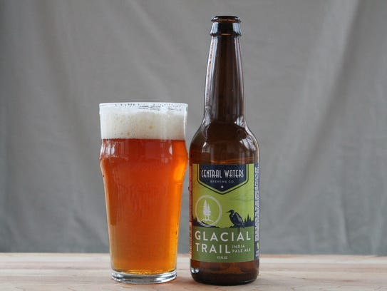 Glacial Trail, American IPA, Central Waters Brewing