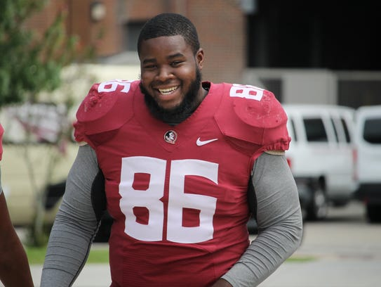FSU defensive tackle Darvin Taylor II missed the entire 2016 season with a shoulder injury.