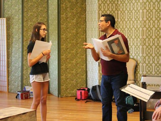 As part of the opera camp, Eli Villanueva offers not
