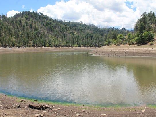 Engineering Manager Bob Johnson said Bonito Lake, which