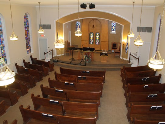 Temple B'nai Israel in Jackson was listed on the National