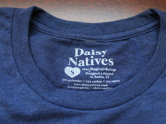"Daisy Natives ""for magical beings."""