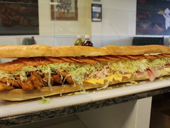 Bogie's Hoagies's hero sandwich