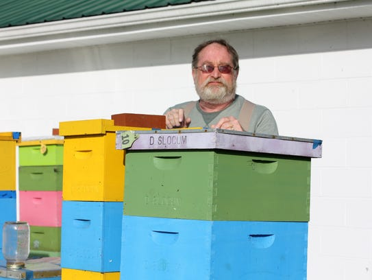 The late arrival of spring has delayed honey production