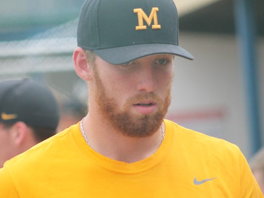 Former Madeira ace Sam Wirsing is in the pitching rotation