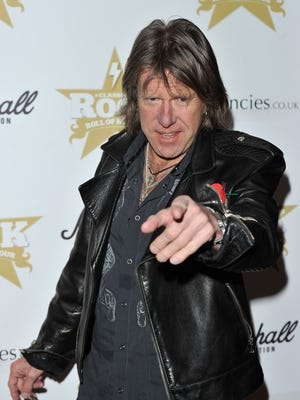 Keith Emerson of Emerson, Lake and Palmer, seen here at a 2010 event, died Thursday.