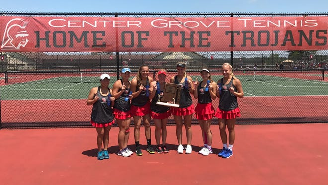 Center Grove made program history Saturday by earning a second straight state championship berth.
