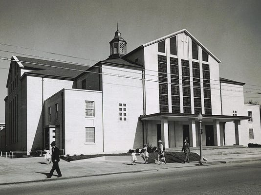 First Baptist of Pineville 1959