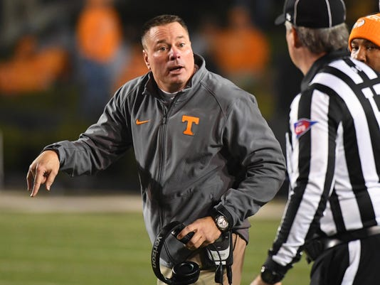 NCAA Football: Tennessee at Vanderbilt