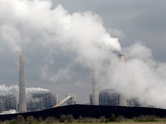 Pollutants released from coal-fire edpower plants can